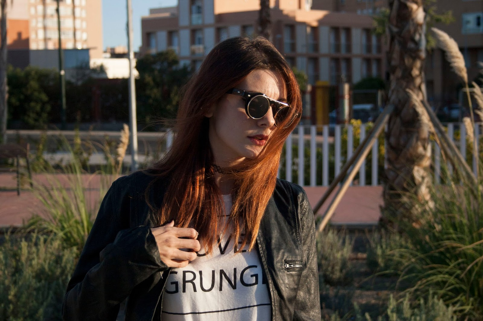 grunge-outfit-zara-leather-jacket