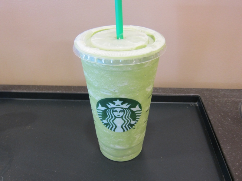 Review: Starbucks - Green Tea Frappuccino | Brand Eating