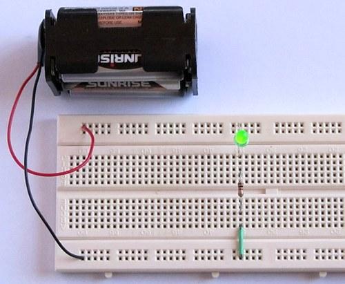 Led Circuit Series Led Runing Light Circuit