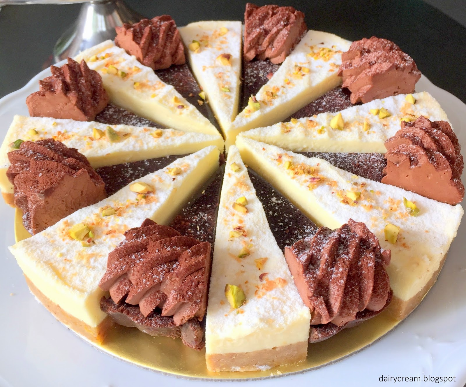 Citrus Pomegranate Terrine Recipe — Dishmaps