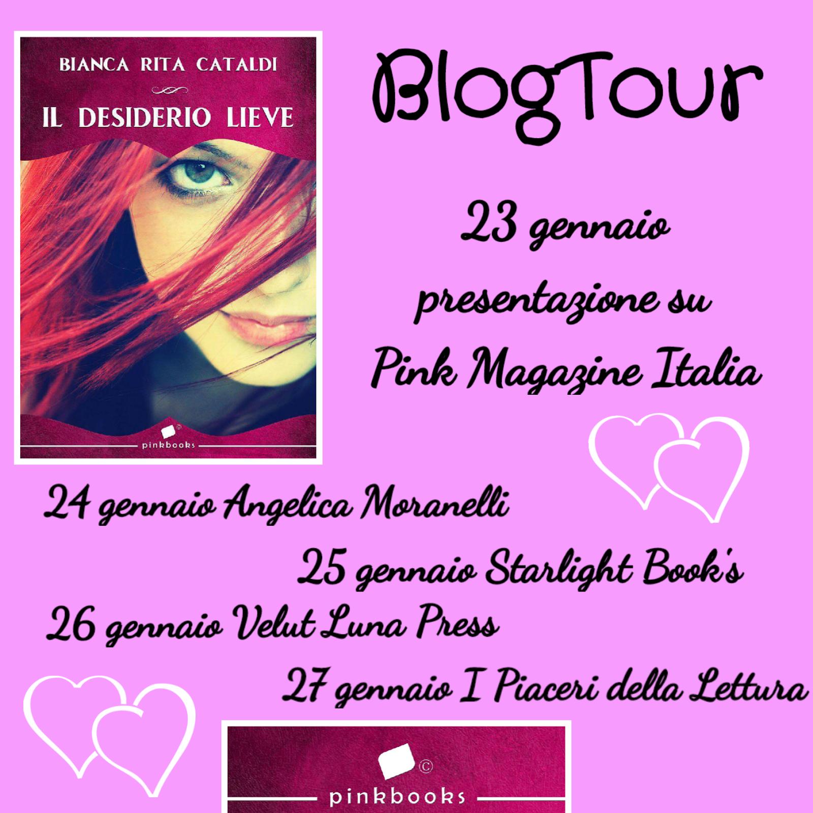 """Blogtour """"Il desiderio lieve"""" di Bianca Cataldi"""