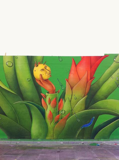 Street Art By Ukrainian Artists Interesni Kazki On The Streets Of Miami For Art Basel '13. 1