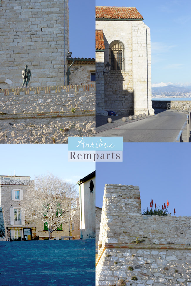 remparts Antibes