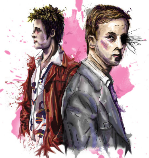 Fight Club por KirstyTron