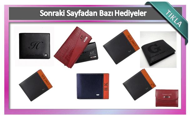 Kişiye özel erkek cüzdan modelleri