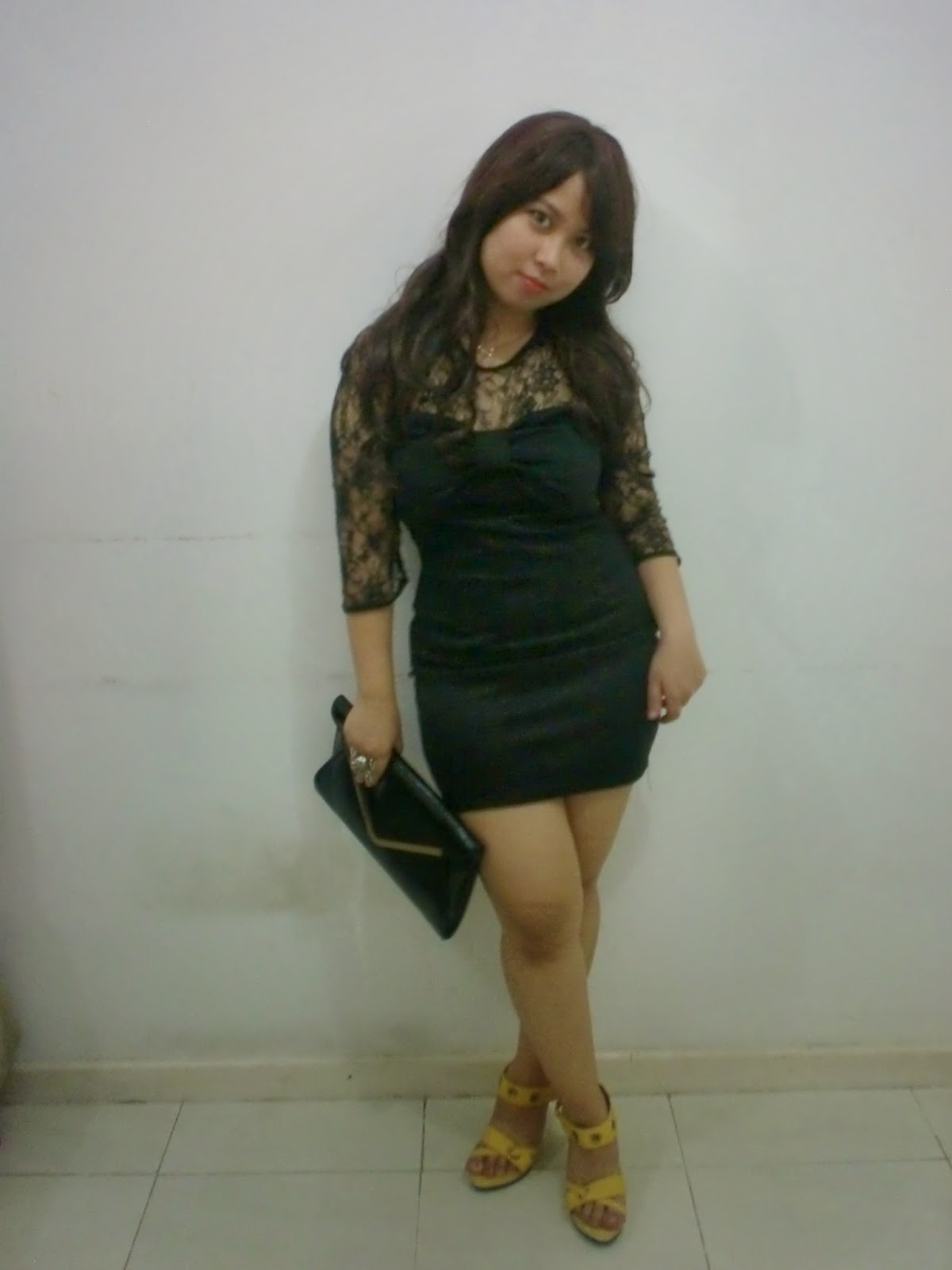 Black dress for party