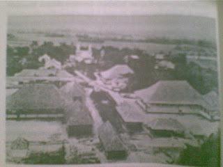 Kompleks Zending di Pearaja beserta dengan sekolah, gereja, dan rumah sakit