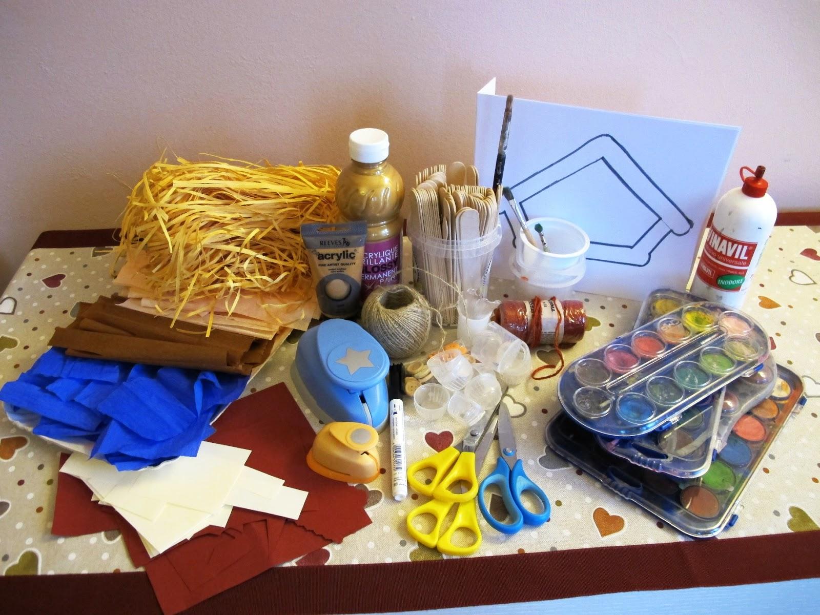 Presepe Con Bastoncini Di Legno : Angolino di liana laboratorio creativo presepe bastoncini