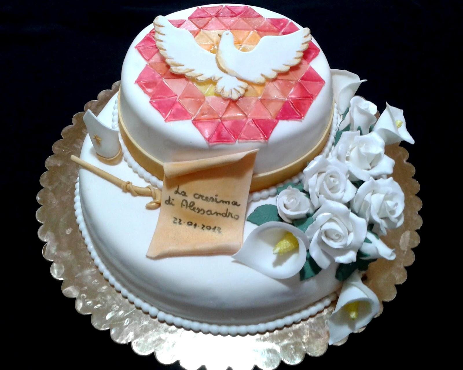 Alessandra e i suoi dolci torta cresima for Nuovi piani domestici con le foto
