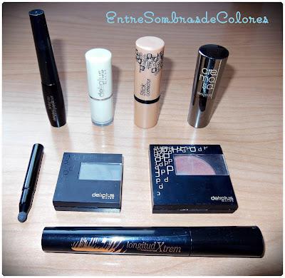 Maquillaje y productos de Deliplus (Mercadona)