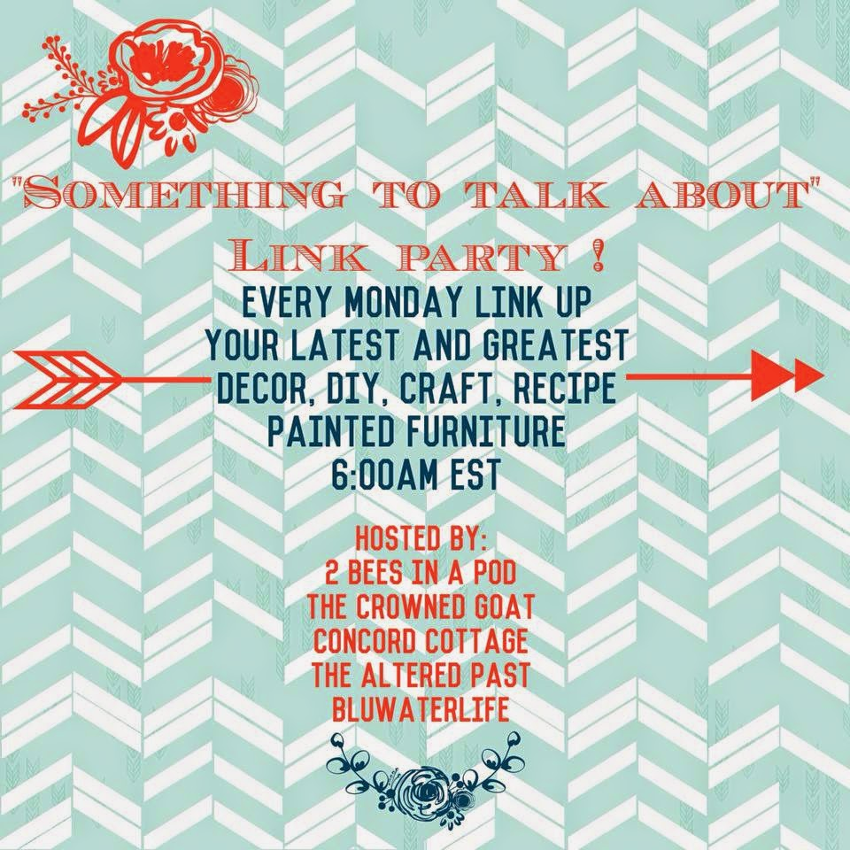 something to talk about link party, the altered past blog