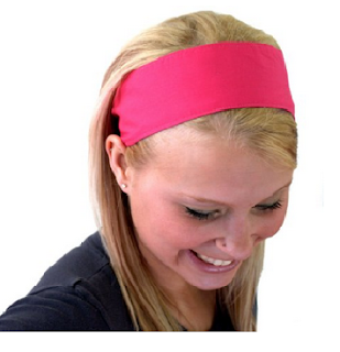 Cute Wide Hot Pink Fashion Headbands