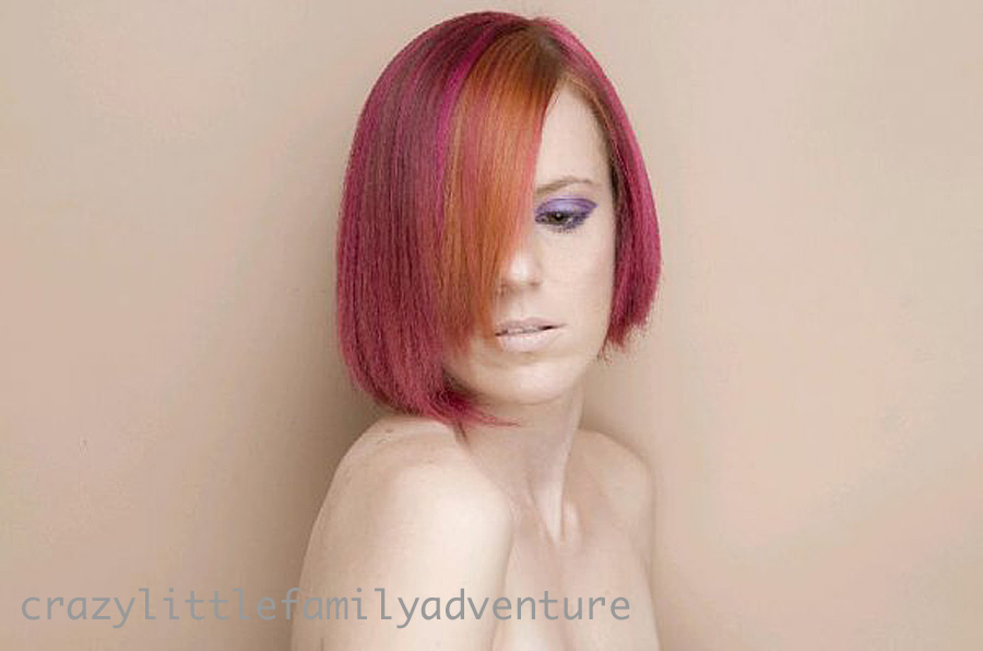Pin Crazy Hair Color Ideas For Short on Pinterest