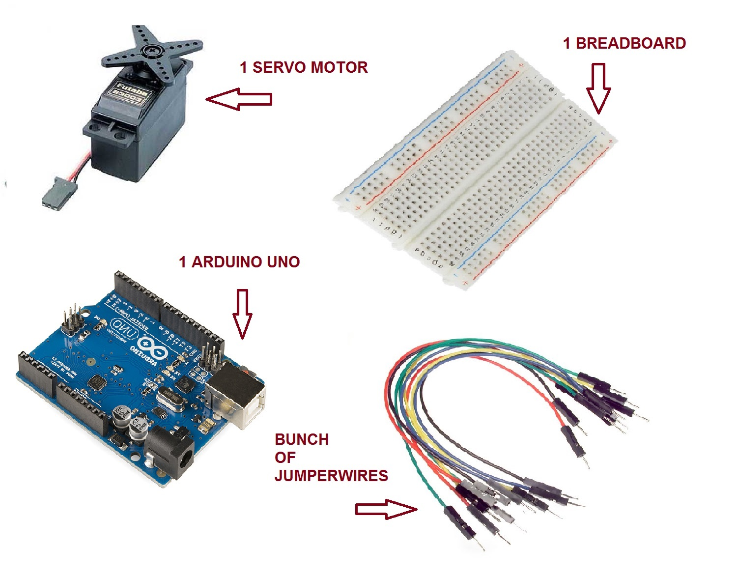 Easiest Way To Get Introduced Into The Fascinating Arduino World Servo Wiring Diagram Circuit