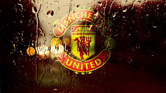 Manchester United Rain Fall Desktop Wallpaper | Wallpapermuseum