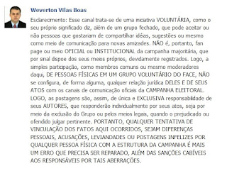 assédio moral de Weverton Vilas Boas