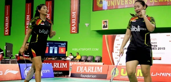 Hasil Final USM Li Ning International Series 2015