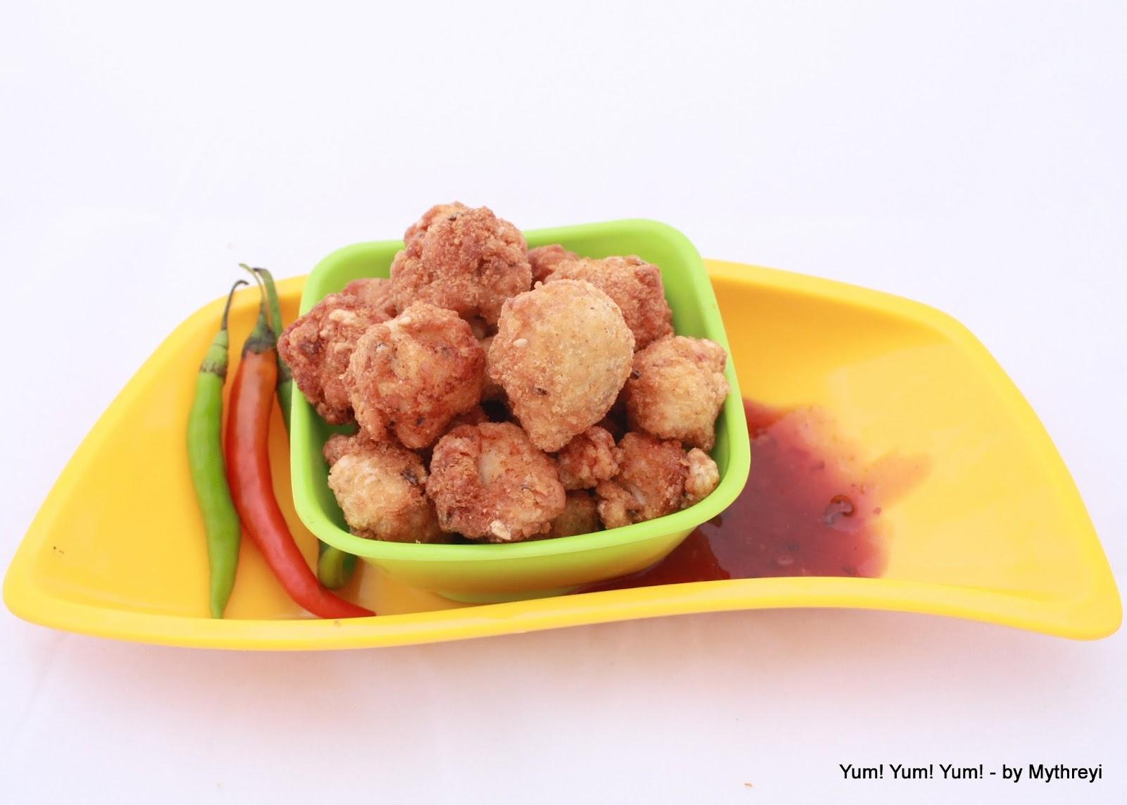 Popcorn Chicken Kids Style : Popcorn Chicken