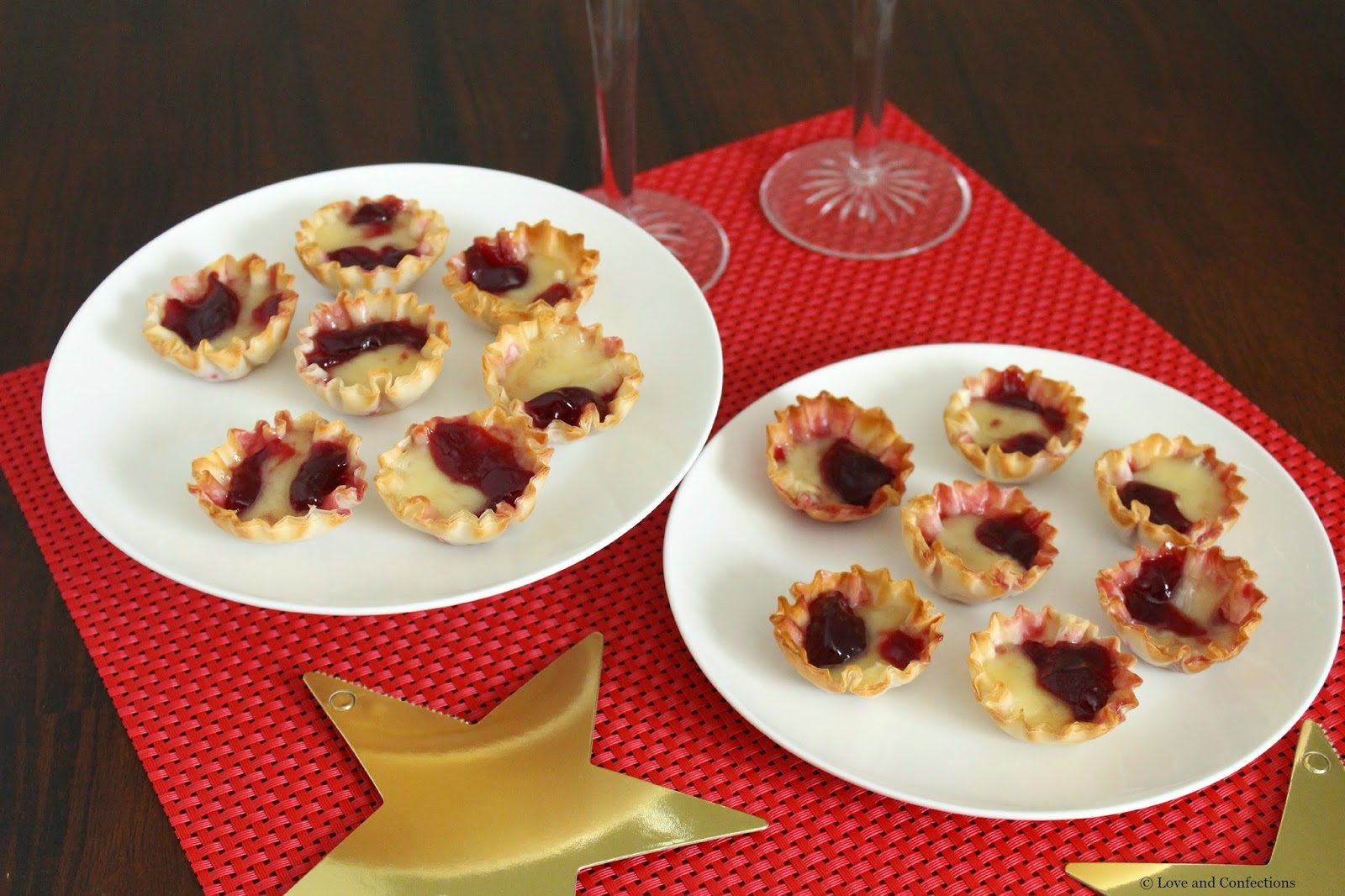 Raspberry Brie Bites for #SundaySupper