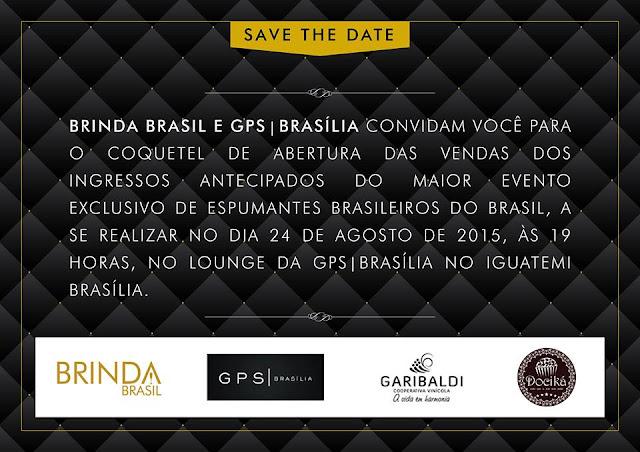 Brinda Brasil 2015: Coquetel de Lançamento