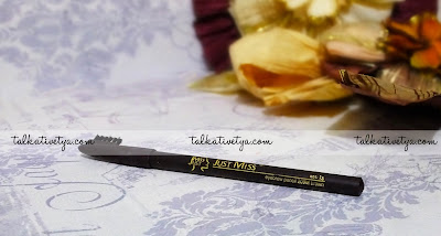 Pensil alis Just Miss 209M warna dark brown