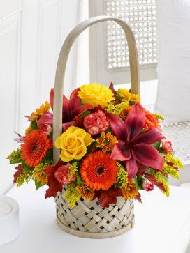 Autumn Basket delivery in Dublin with price
