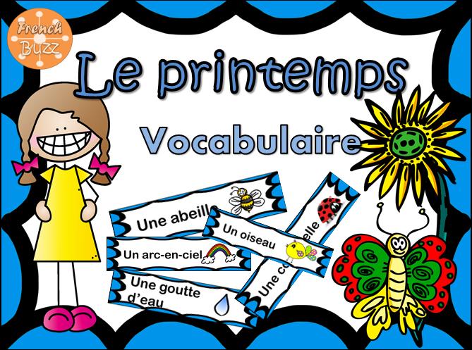 https://www.teacherspayteachers.com/Product/Le-printemps-vocabulaireFrench-words-for-Spring-1701252