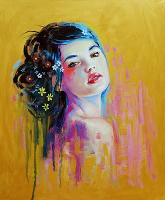 Magnifiques tableaux jolies femmes