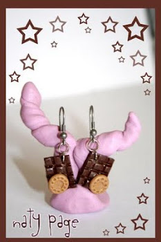 Pendientes Chocolate & Galleta
