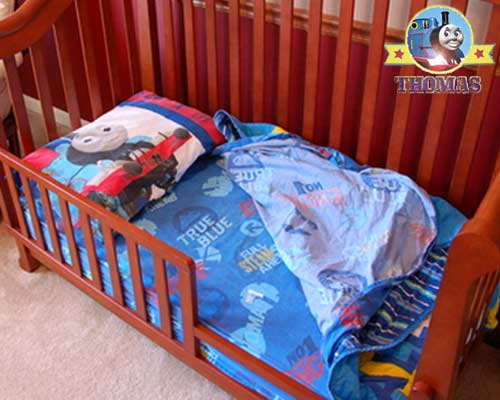 Awesome Train bed sheet sets toddler decor cotton textiles design Thomas the tank engine picture and logos