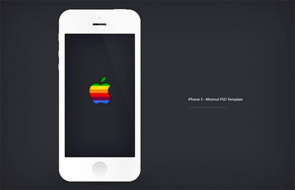 iPhone5 minimal mockup