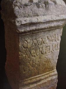 Ara funeraria romana
