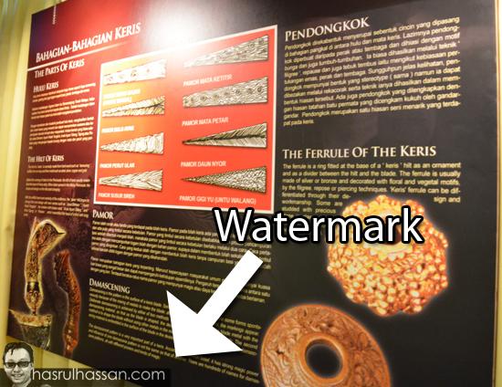 Watermark Gambar Dan Kepentingannya