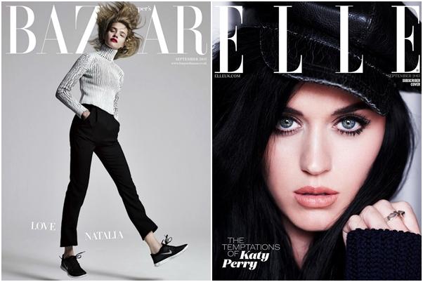 Revista Harper's Bazaar Elle Setembro 2013 Katy Perry