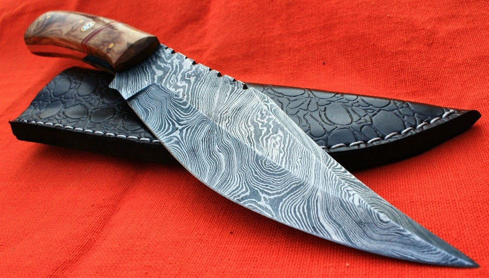 Acero valyrio el filo casi eterno - Cuchillo de cocina acero damasco ...