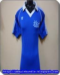 Vintage Adidas Trefoil Short Sleeve Blue