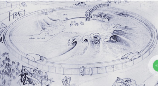 Greg Webber Wave Pool