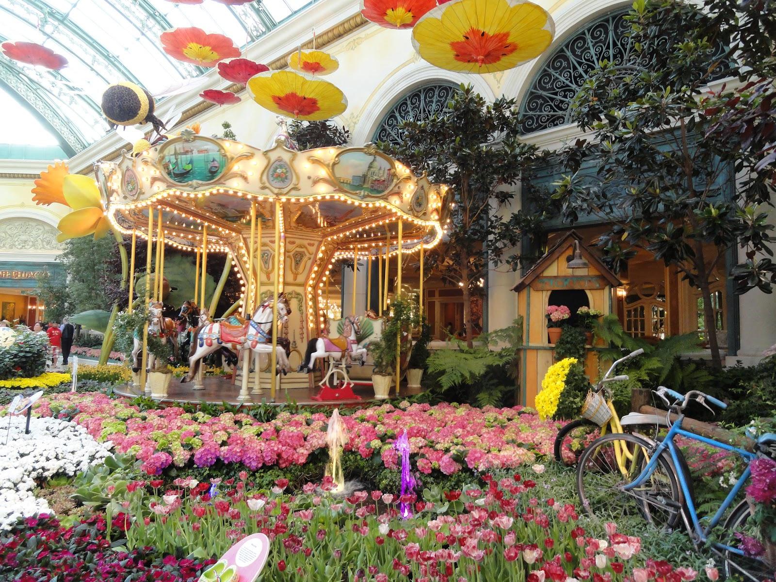 Bj Travels Bellagio Gardens