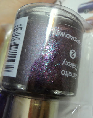 Smalto glitter Violet Light Miss Broadway