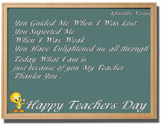 Quotes On Teachers Day