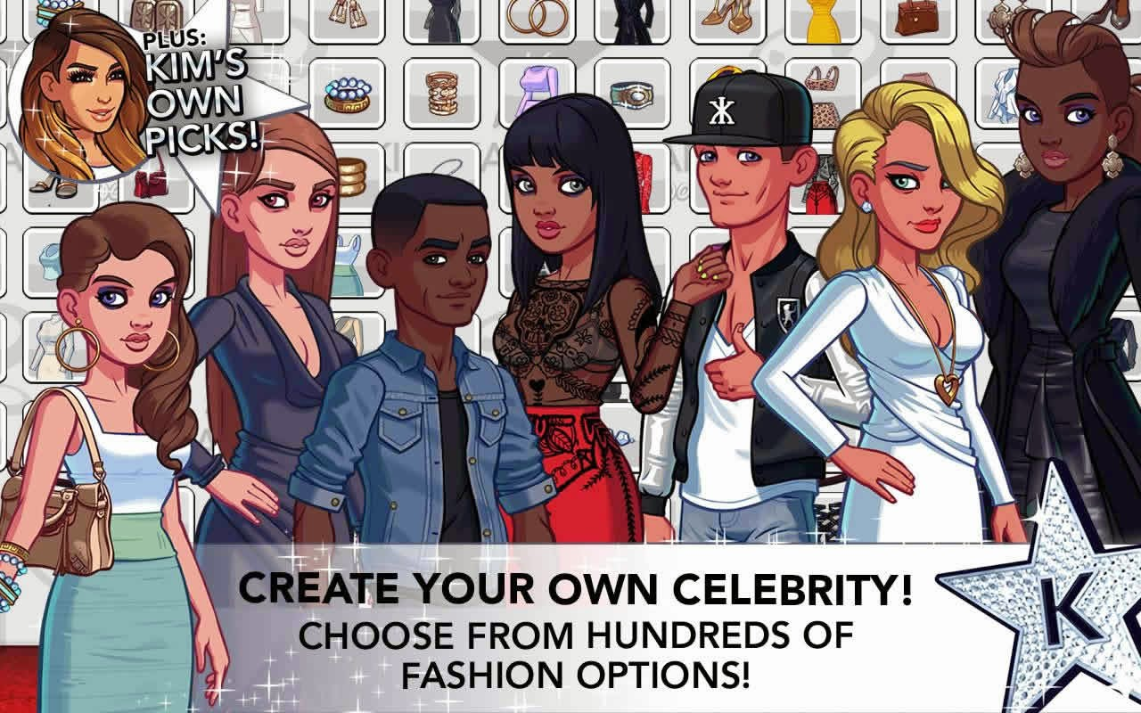 KIM KARDASHIAN: HOLLYWOOD Para ve Star Hilesi Apk