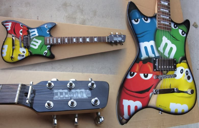 Explanation of band name M2M - M&M guitar