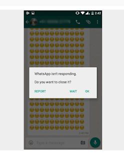 Cara Membuat WhatsApp Teman Anda Hang Hanya Dengan Trik Ini