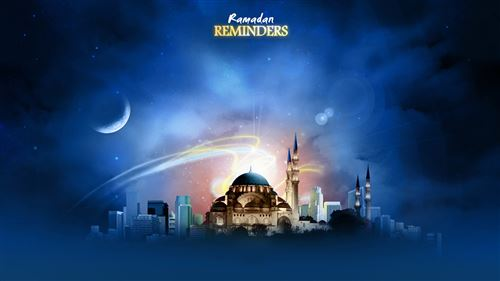 A Wonderful Pic To Make Ramadan Cover With Muslims Church: Ramadan Reminders
