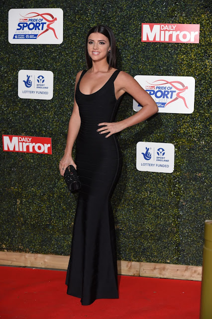 Model, @ Lucy Mecklenburgh – Daily Mirror Pride of Sport Awards in London