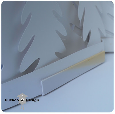 Ikea Stråla white forest light