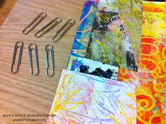 supplies; Brilliant Paper Clips by Martice Smith II