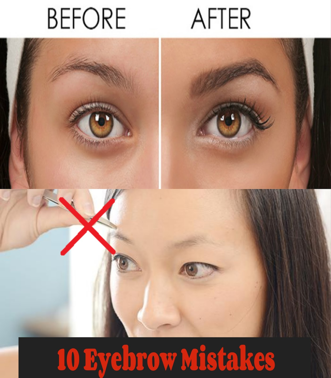 eyebrow shape mistakes eyebrow shape mistakes eyebrow ...