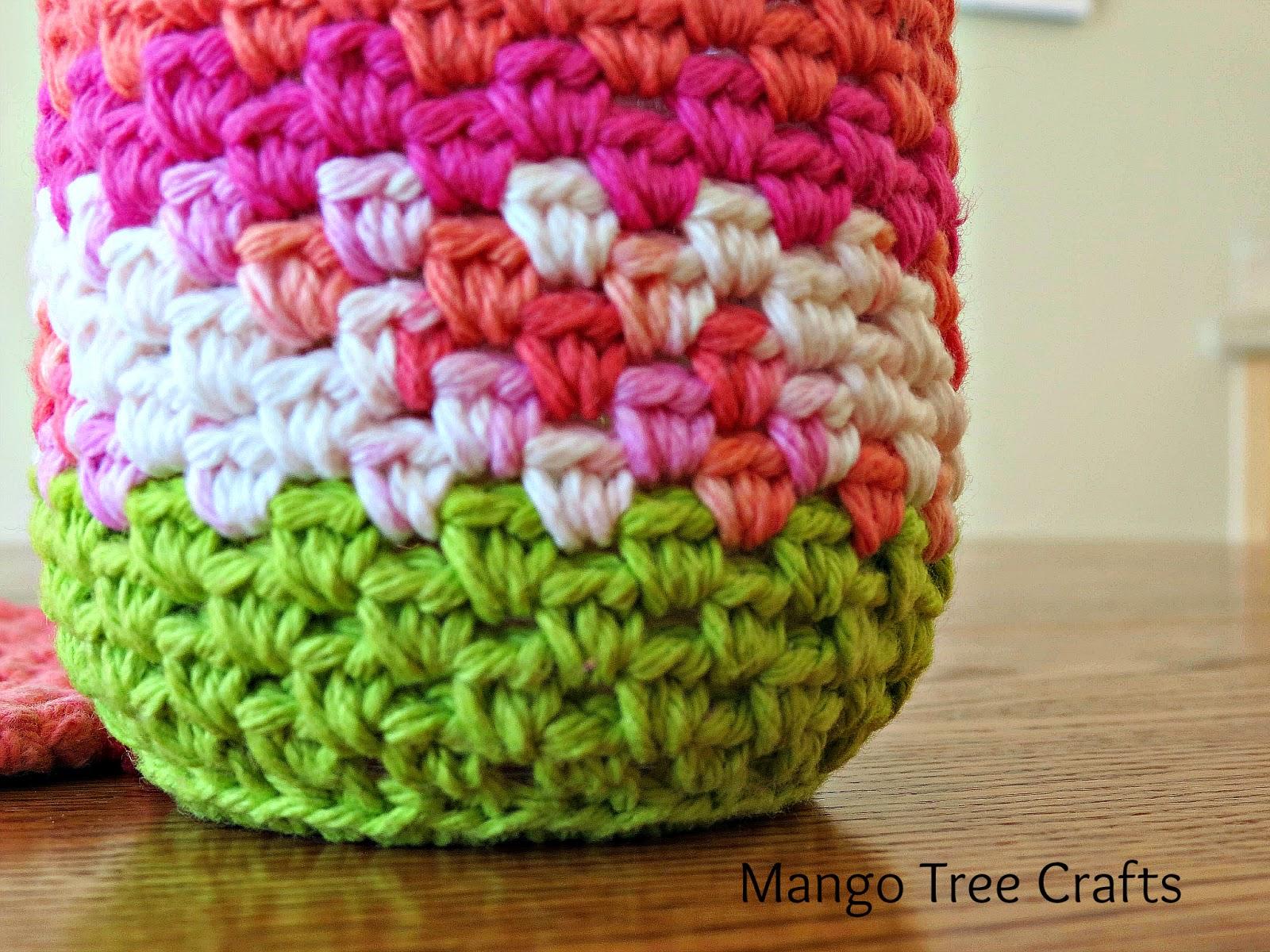 Free Mason Jar Cozy Crochet Pattern