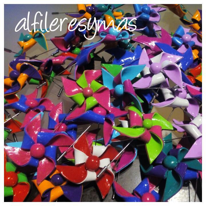 Alfiler Origami en Fimo